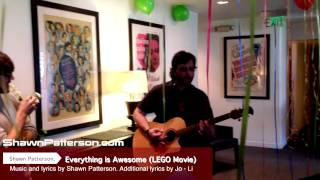 "Shawn Patterson (song writer) The LEGO Movie ""Everything is Awesome"" [tegan and sara]"