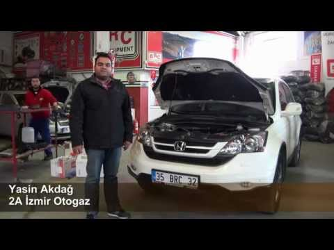 2A İzmir LPG HONDA CR-V BRC Otogaz Dönüşümü - LPG HABER
