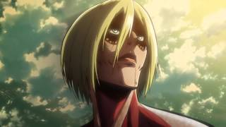 Attack on Titan Episode 24 Eren's Transformation [Shingeki no Kyojin] HD