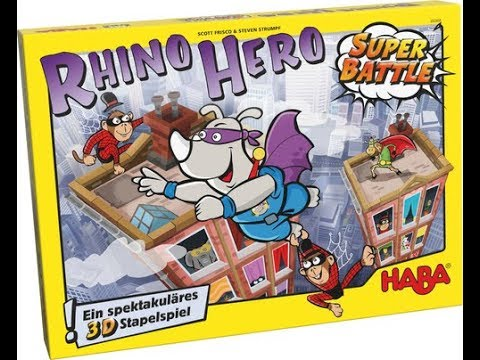 Reseña Rhino Hero: Super Battle