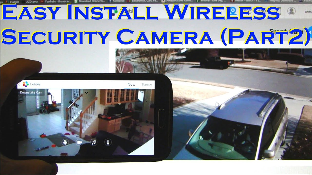 Install Cameras Outside Home Lakewood Village TX