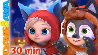 👻 One, Two, the Kids Say Boo | Halloween Songs for Kids | Baby Songs by Dave and Ava 👻