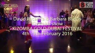 KIZOMBA GOLD DUBAI FESTIVAL 2016: David Pacavira & Barbara Barros SEMBA SHOW