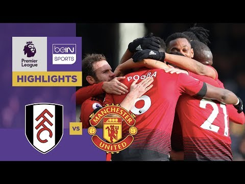 Download Video Fulham 0-3 Manchester United Match Highlights