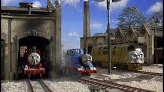 Thomas and the Magic Railroad sound effects: Meeting Diesel 10