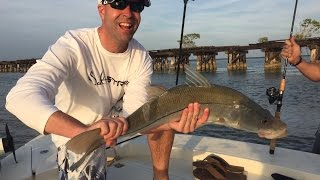Day 1 of Fishing with Wounded Warrior Scott Lilley (Scott's Monster Snook)