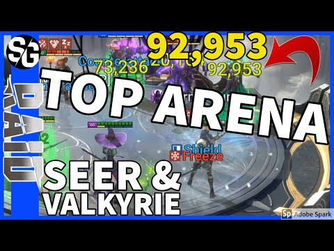RAID SHADOW LEGENDS | TOP 50 ARENA SEER VALKYRIE