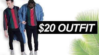 $20 Thrift Store Challenge ft. Cody Hughes | (men's fashion)