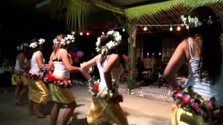 "Dancing to ""Pate Pate"" at Polynesian Night, Australia"