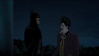 The Joker Makes Batman Laugh - Batman: The Killing Joke