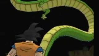 Super Dragon ball Z PS2 Goku Dragon Summoning