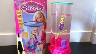 Test Magic Sirene et aquarium - 4/7 ans - Sirène magique - Choix-de-parents avis