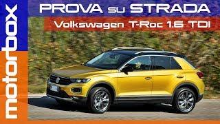 Volkswagen T-Roc 2018 | La prova della diesel 1.6 TDI SCR