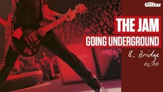 Guitar Lesson: The Jam 'Going Underground' -- Part Eight -- Bridge (TG217)