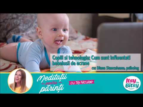 Copiii si tehnologia: Cum sunt bebelusii influentati de ecrane