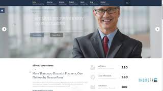 Finance Press - Consulting Business, Finance Joomla Template        G