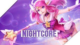 「Nightcore」→ Burning Bright || Allie Crystal ✔ Lyrics ✔ Star Guardians Song