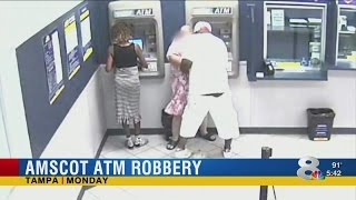 Tampa Amscot customer robbed as others watch