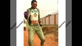 Science Student - Olamide Baddosneh (Corpers Dancing to Shakushaku Challenge)