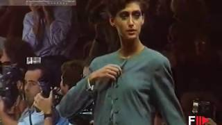 LUCIANO SOPRANI Spring Summer 1991 Milan - Fashion Channel