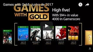 Games with Gold de Junho - Watch Dogs, Assassin's Creed III, Dragon Age e SpeedRunners!!!