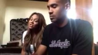 """Tamia Covers Frank Ocean's """"Thinking Bout You"""" With Grant Hill On The Piano 