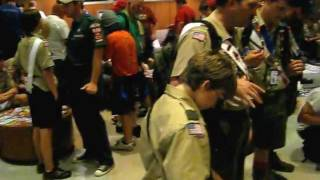 Patch Trading In Read Hall at the 2009 NOAC Pt. II