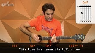 videoclase This Love (aula de violão completa)