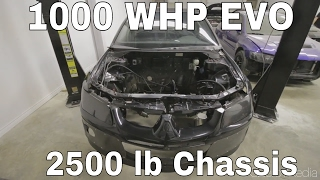 4G64 w/ Kia Head - 1000HP MOTOR REVEAL AND INSTALL! - 1000WHP F&S Motorsports Evo Build - Ep.2