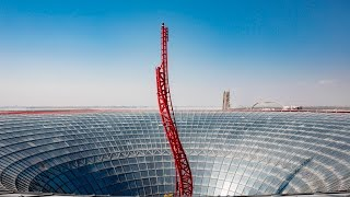 "Ferrari World Abu Dhabi Latest Rollercoaster ""Turbo Track"" / فيراري وورلد ابو ظبي توربو تراك"