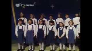 Coro infantil de Santo Amaro de Oeiras canta um clássico de Natal