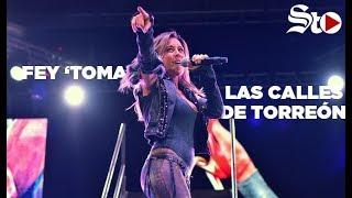 Fey 'desnuda' su alma en Torreón en su tour #FeyDesnudaTour
