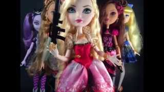Ever After High Bad Blood stop motion parody