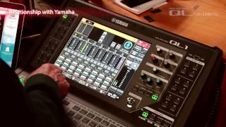 Dan Dugan talks about Yamaha QL series Digital Mixing Consoles