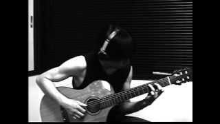 """Fate Zero ED """"Sora wa takaku Kaze wa utau [空は高く風は歌う]"""" on guitar"""