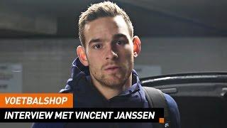 Voetbalshop   Interview met Nederlands Elftal spits Vincent Janssen