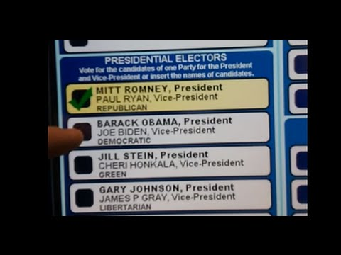 Thumbnail for Machine turns vote for Obama into one for Romney - MSNBC