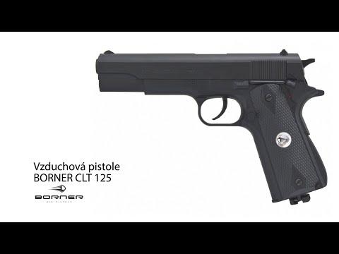 Vzduchová pistole Borner CLT 125