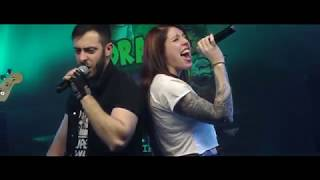 CHE CAMPIONI HOLLY E BENJI sigla LIVE! - DRAGO SHENROCK Cartoon Rock Band