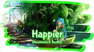 [Nightcore]   Happier - Marshmello ft. Bastille