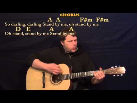 Stand By Me (Ben E King) Strum Guitar Cover Lesson with Chords ...