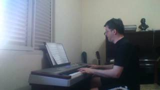 A bela e a fera  - tema - piano digital