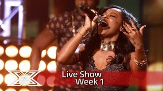 Can Relley C wow with Mary Mary's Shackles  | Live Shows Week 1 | The X Factor UK 2016