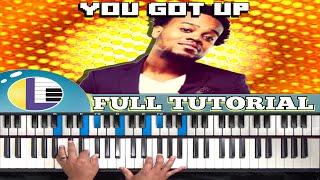 🎵 YOU GOT UP Travis Greene: (easy gospel PIANO TUTORIAL) TRAVIS GREENE You Got Up Cover