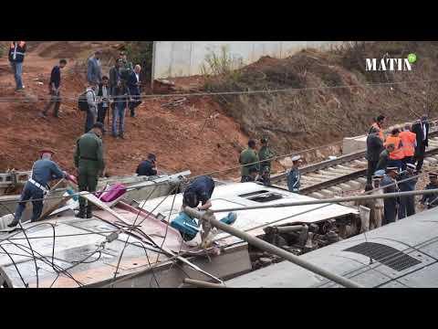 Video : Un survivant du drame ferroviaire témoigne