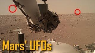 So klingt der MARS 🎵 Insight Sonde fotografiert erste UFOs 🛸