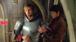 """that's merely friendly slaps , its horseplay "" [crack Merlin & Arthur ]"