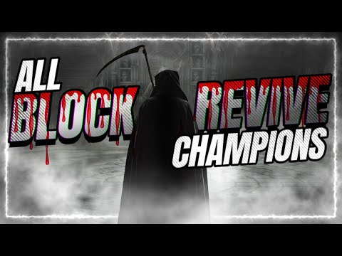 BLOCK REVIVE Champs | Which are BEST?! | RAID Shadow Legends