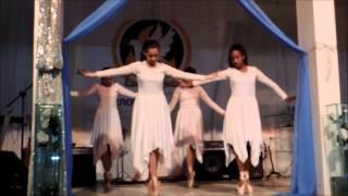 Dança- culto de jovens 29 08 2015