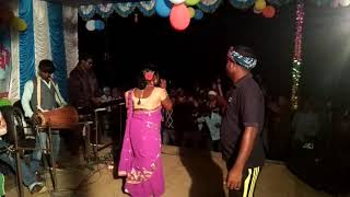Santali fansan Sanjit and Geeta dance jhalak in murigoria at 4/12/2017